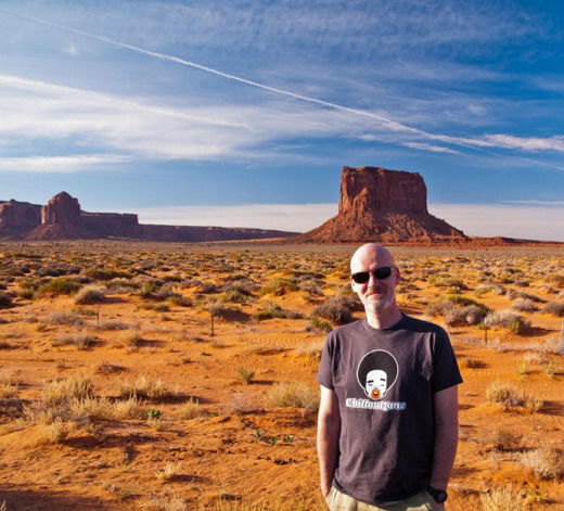 Chilled Out Greetings From Monument Valley