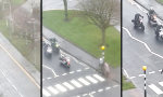Lustiges Video : Das Biker-Image polieren